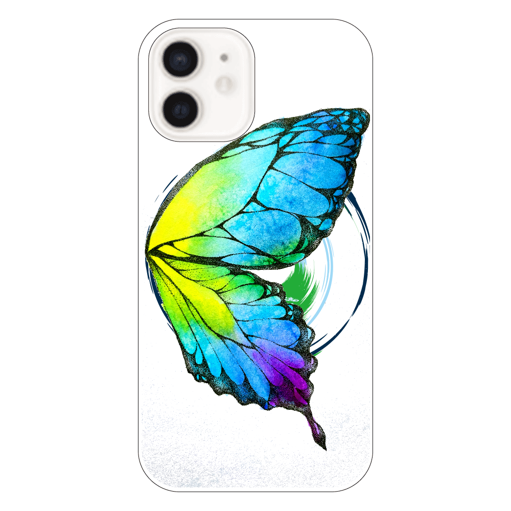 蝶 iPhone12(透明)