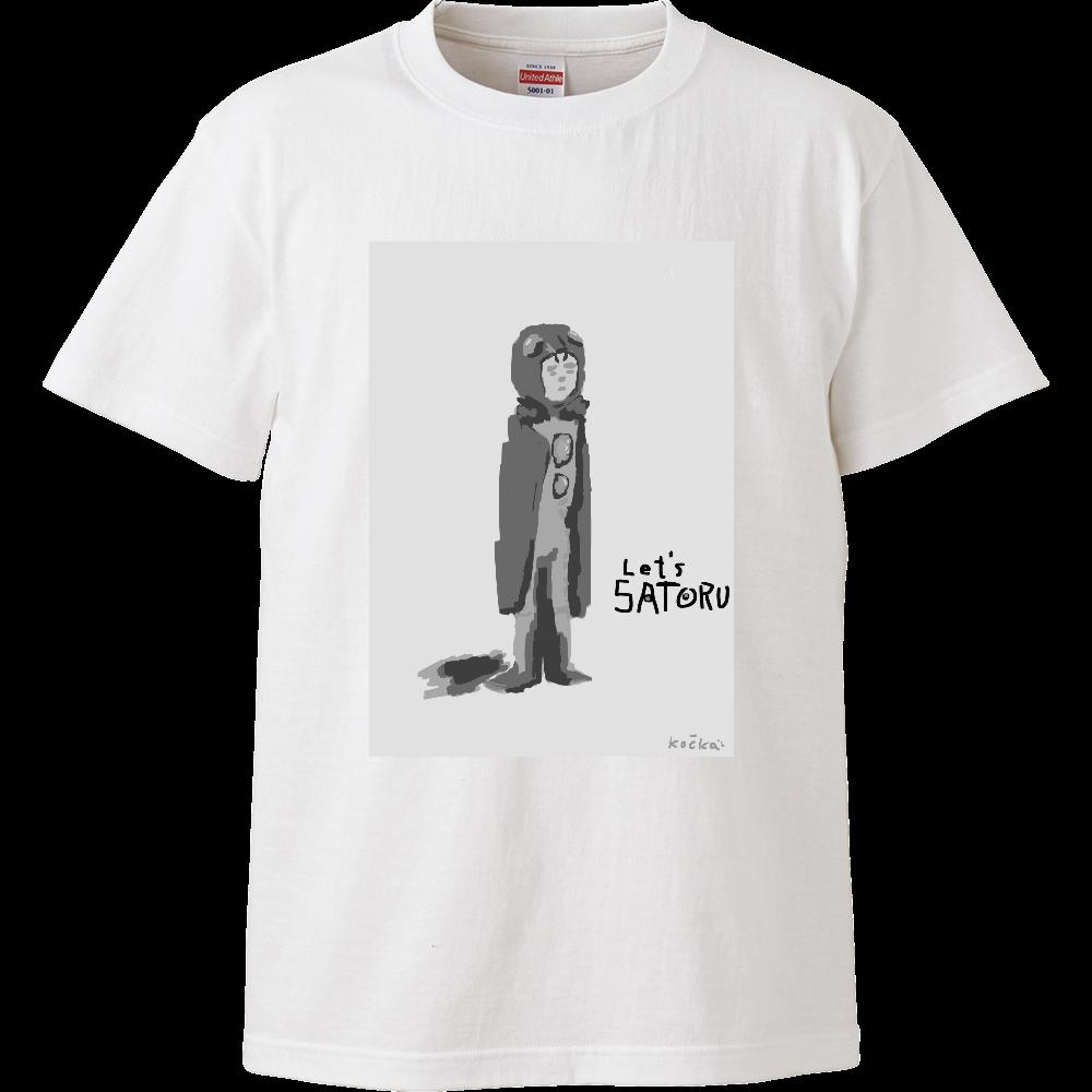 レッツさとる ハイクオリティーTシャツ