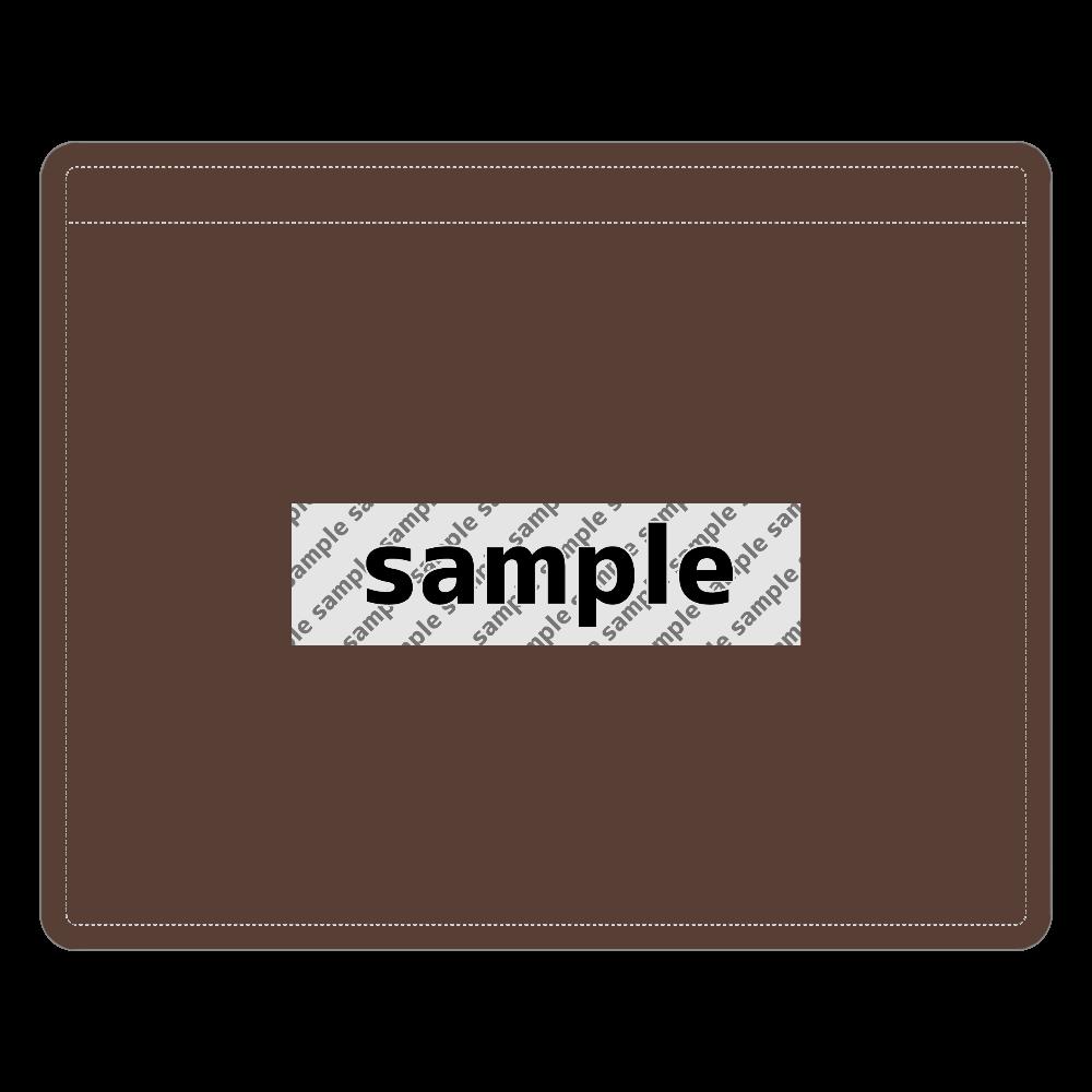サンプル レザーIDカードホルダー レザーIDカードホルダー(ネックストラップ付)