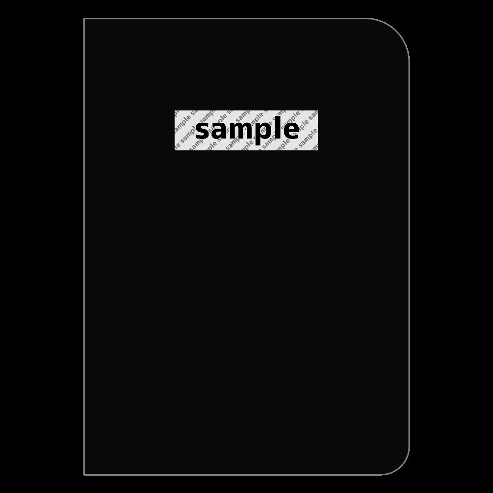 サンプル ノート ハードカバーポケットノート