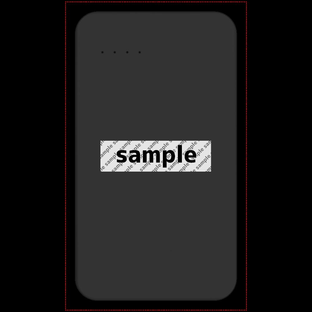 サンプル モバイルバッテリー 残量表示付きモバイルバッテリー(4000mAh)