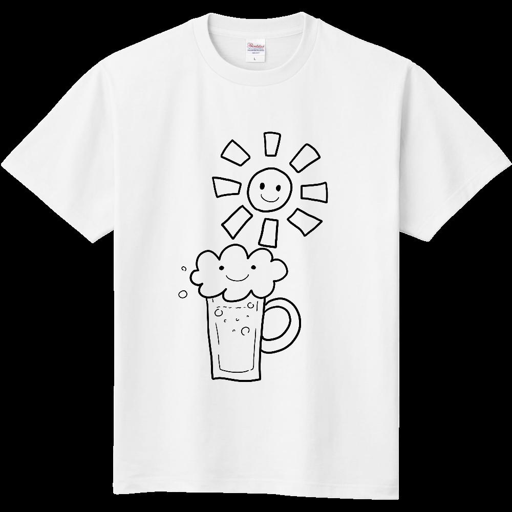 朝日とビール 定番Tシャツ