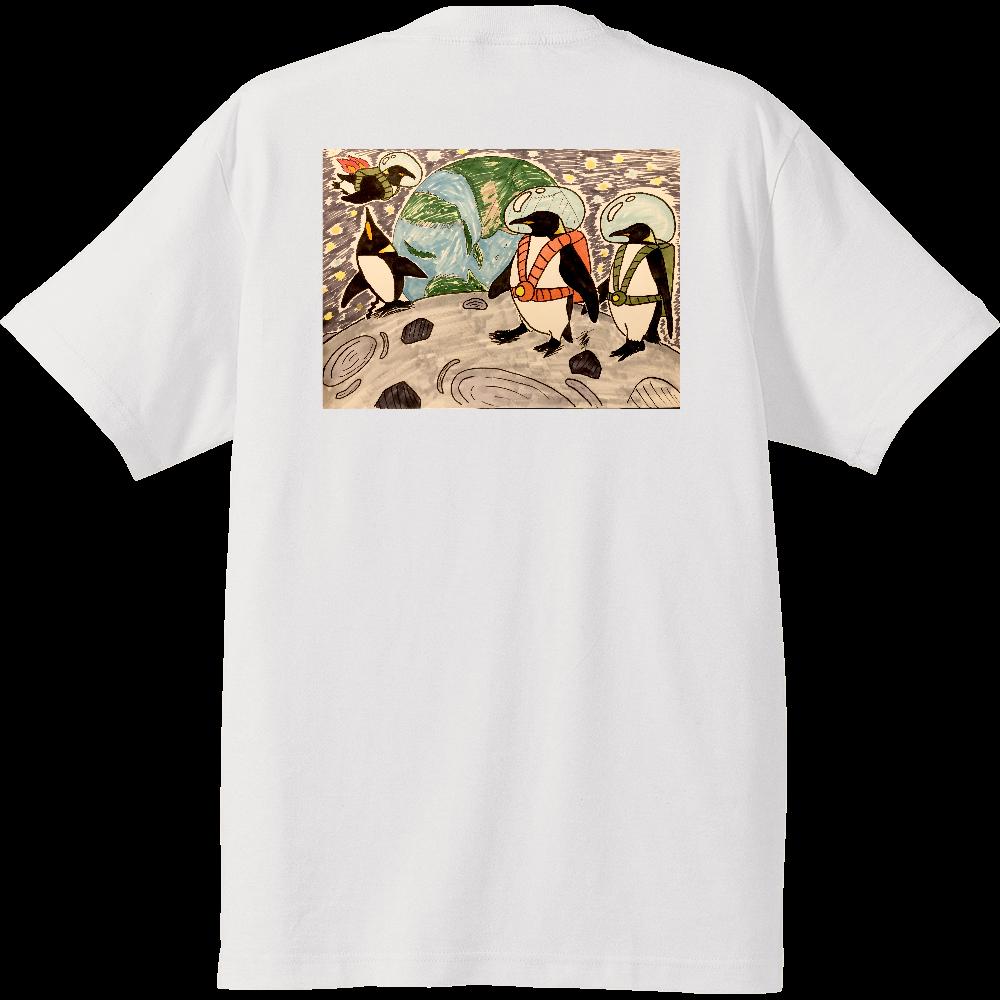 Space penguins ハイクオリティーTシャツ