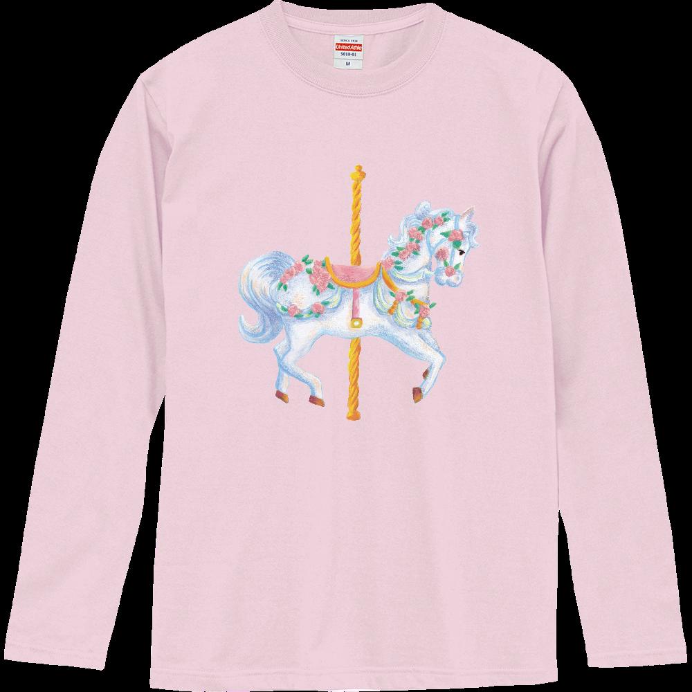 メリーゴーランド01 ロングスリーブTシャツ