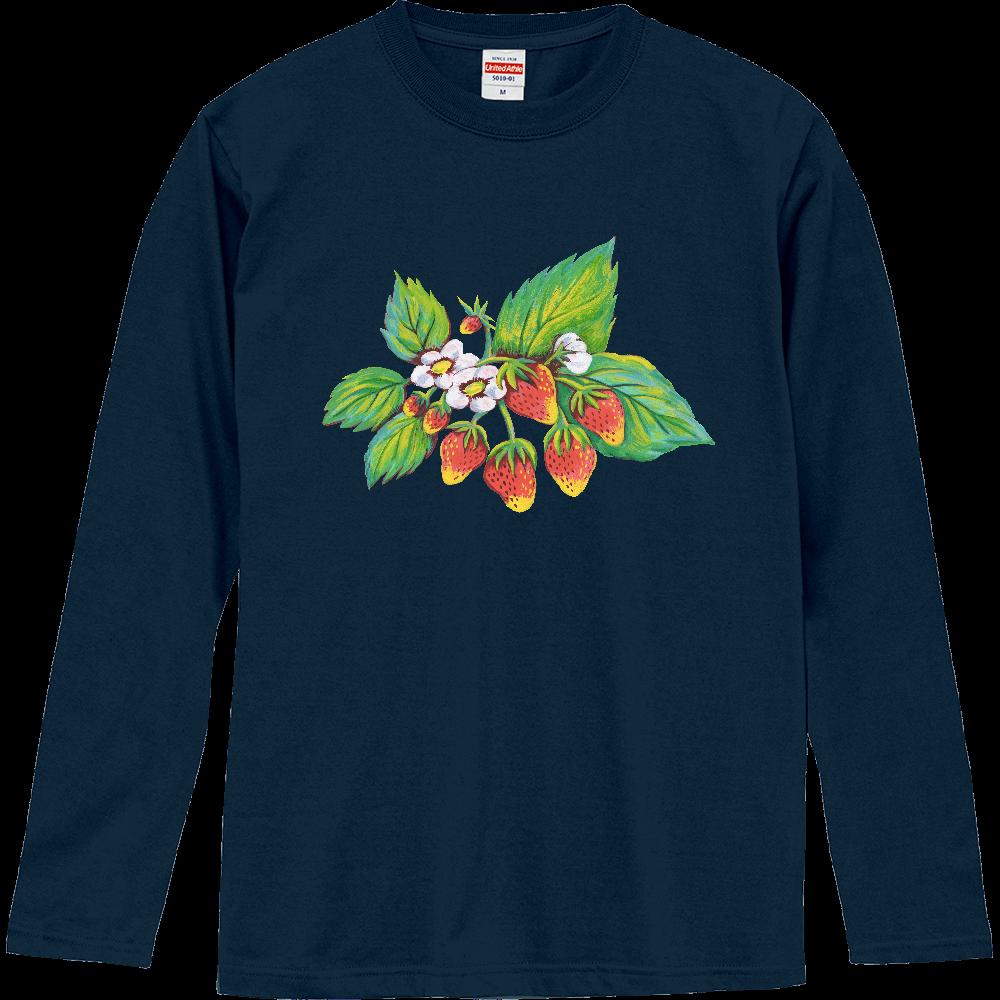ストロベリー01 ロングスリーブTシャツ