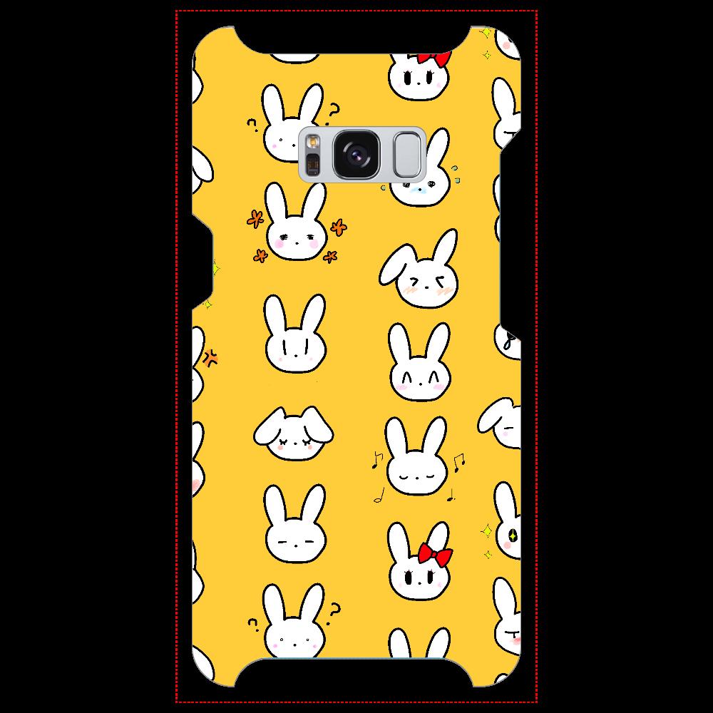 ドット柄うさぎ Galaxy S8 (SC-02J)