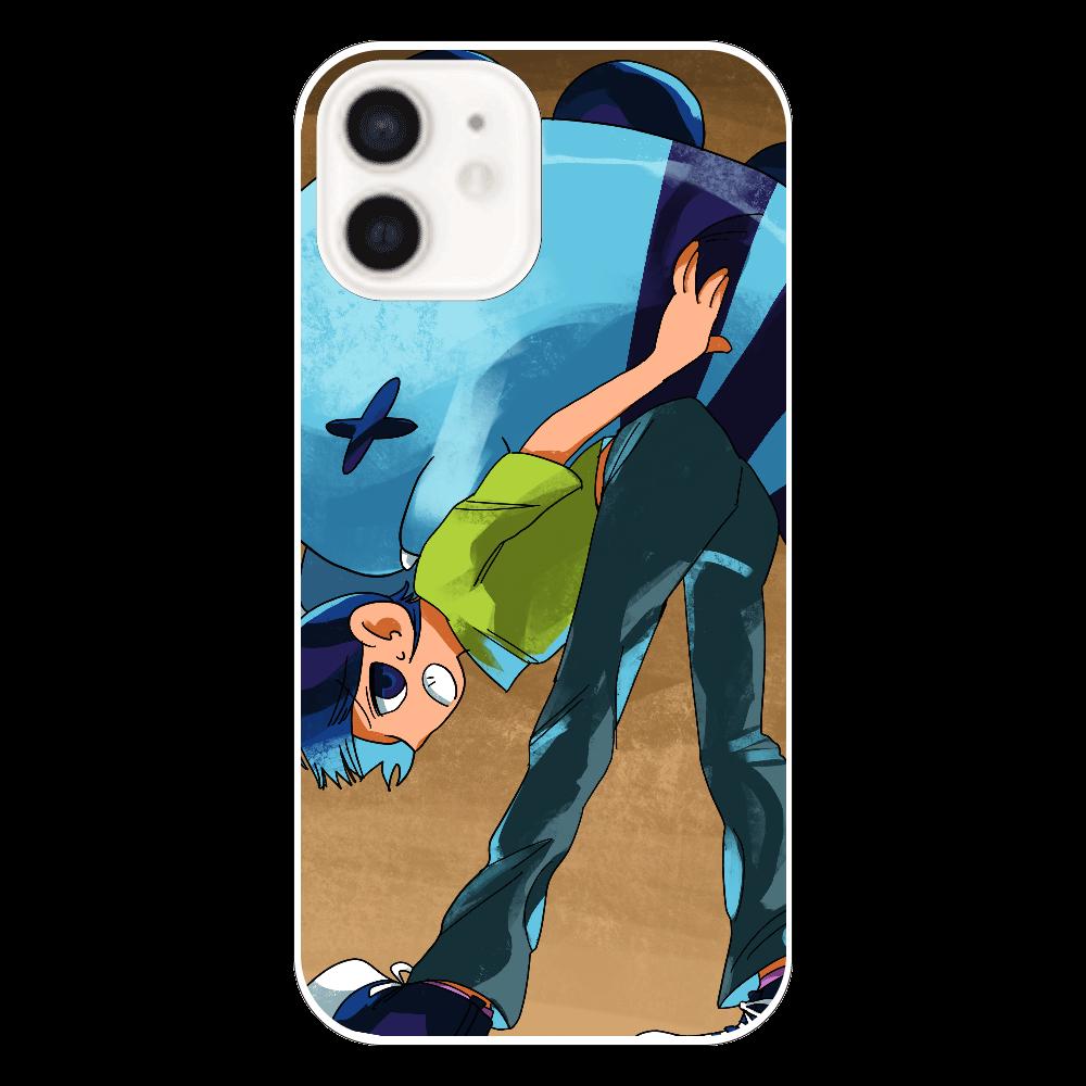 もちもち恐竜ペケさん【重い…】 iPhone12(透明)