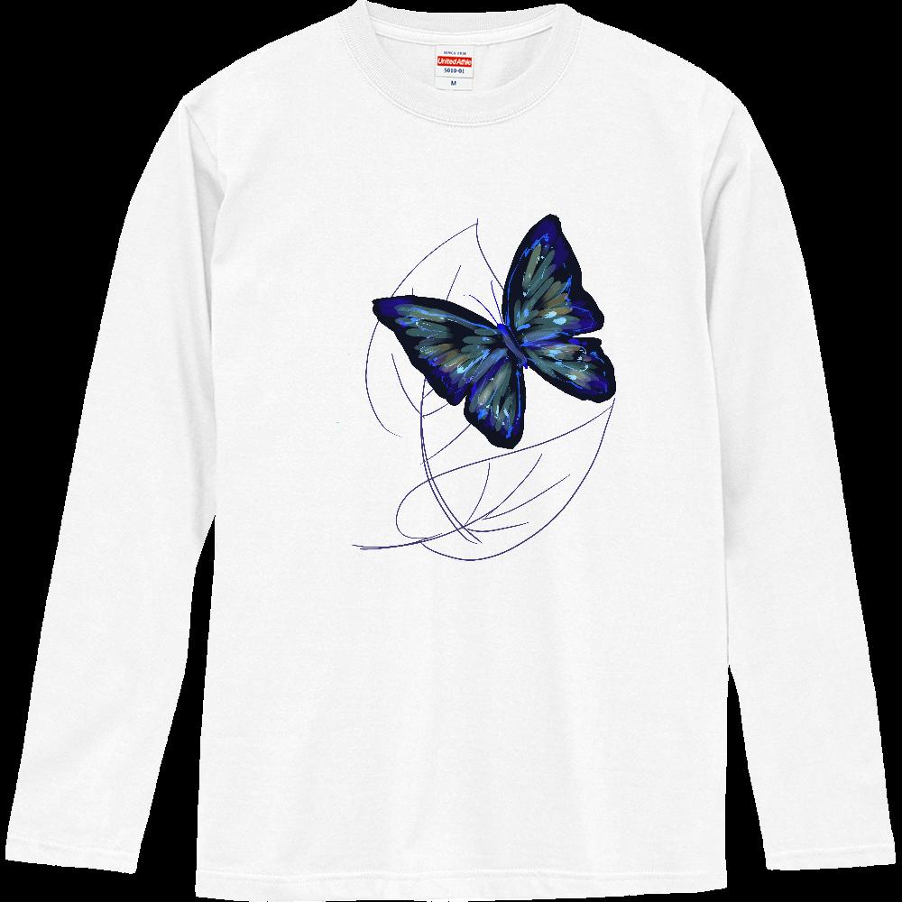 黒蝶 ロングスリーブTシャツ
