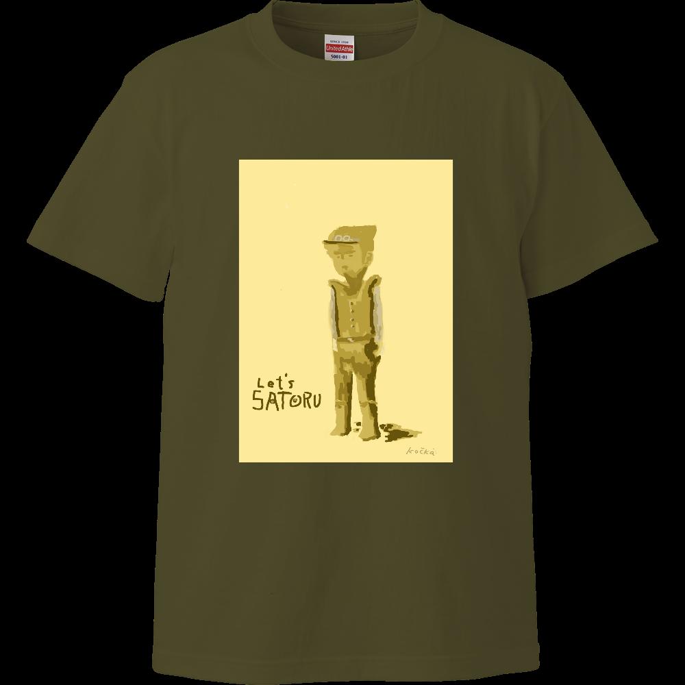 レッツさとるシリーズ ハイクオリティーTシャツ
