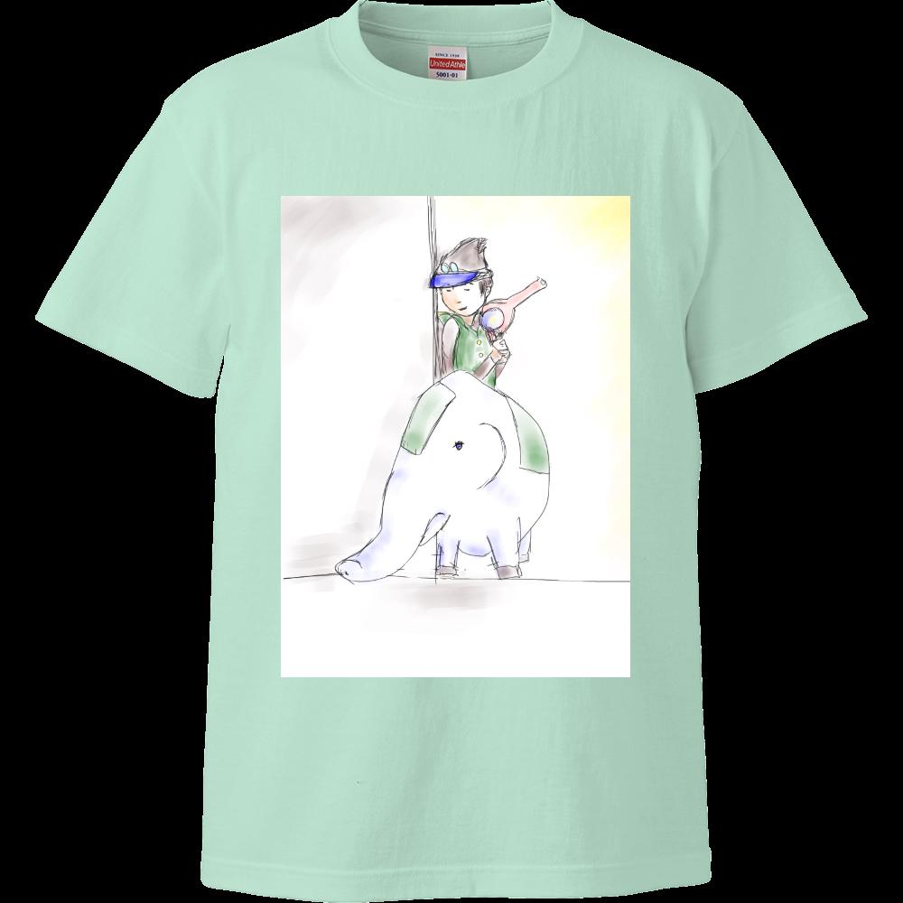 レッツ!!さとるシリーズ ハイクオリティーTシャツ