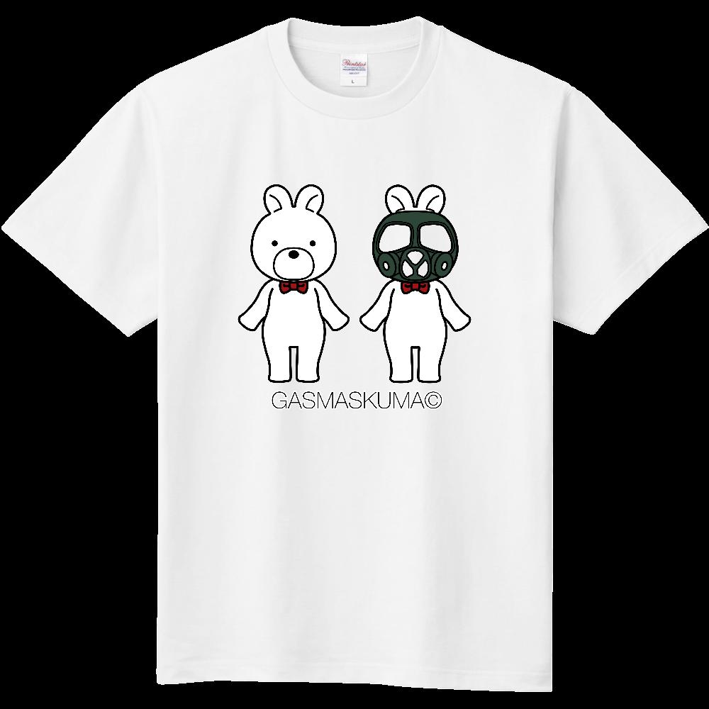 ガスマスくまちゃんTシャツ 定番Tシャツ