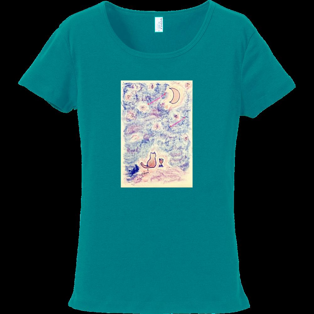 『ピンク流星群』 フライスTシャツ