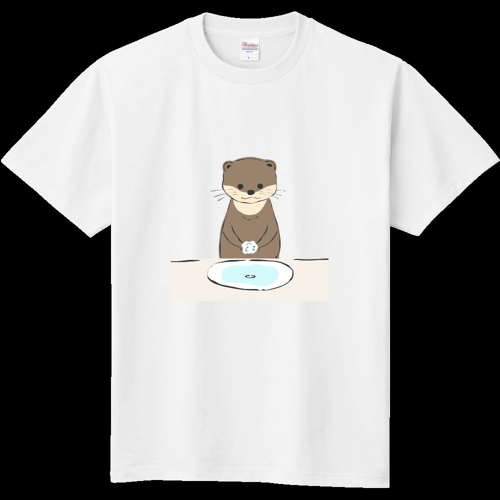 カワウソさんの手洗い 定番Tシャツ