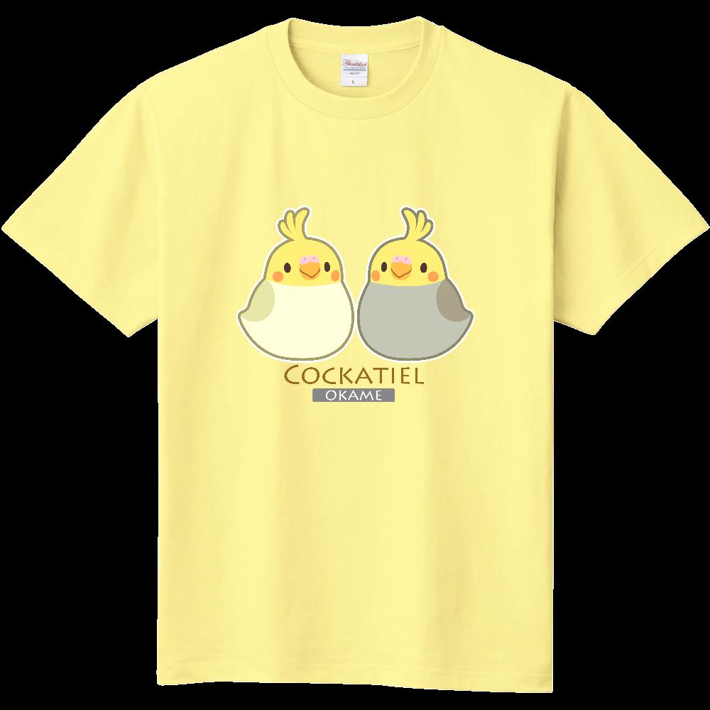 オカメインコTシャツ 定番Tシャツ