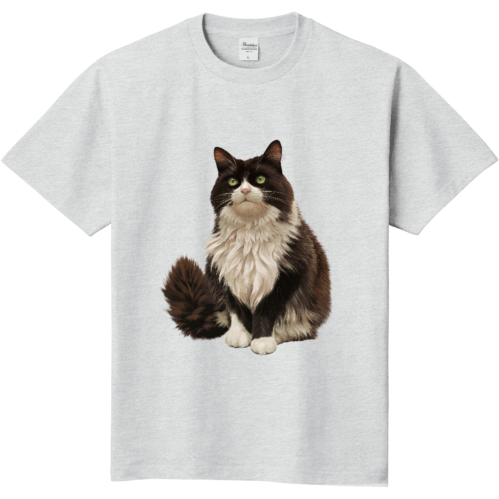 ノルウェージャンフォレストキャットTシャツ 定番Tシャツ