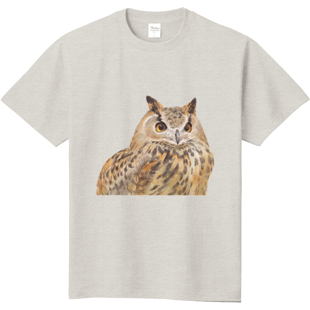 ミミズクTシャツ 定番Tシャツ