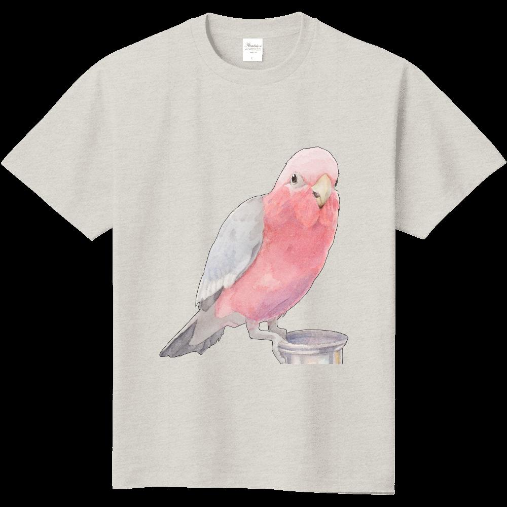 モモイロインコTシャツ 定番Tシャツ