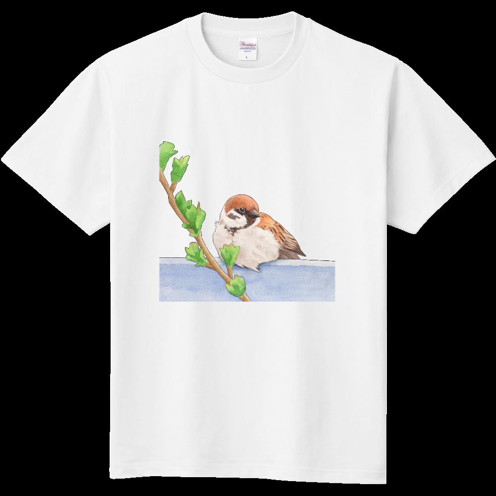 すずめTシャツ 定番Tシャツ
