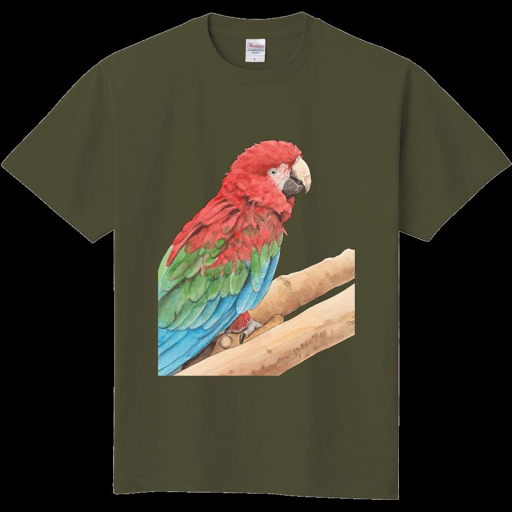 ベニコンゴウインコのTシャツ 定番Tシャツ