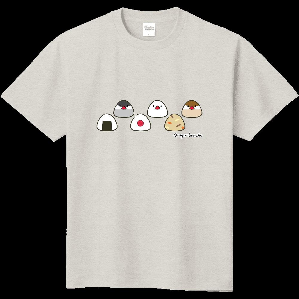 おにぎり文鳥Tシャツ 定番Tシャツ