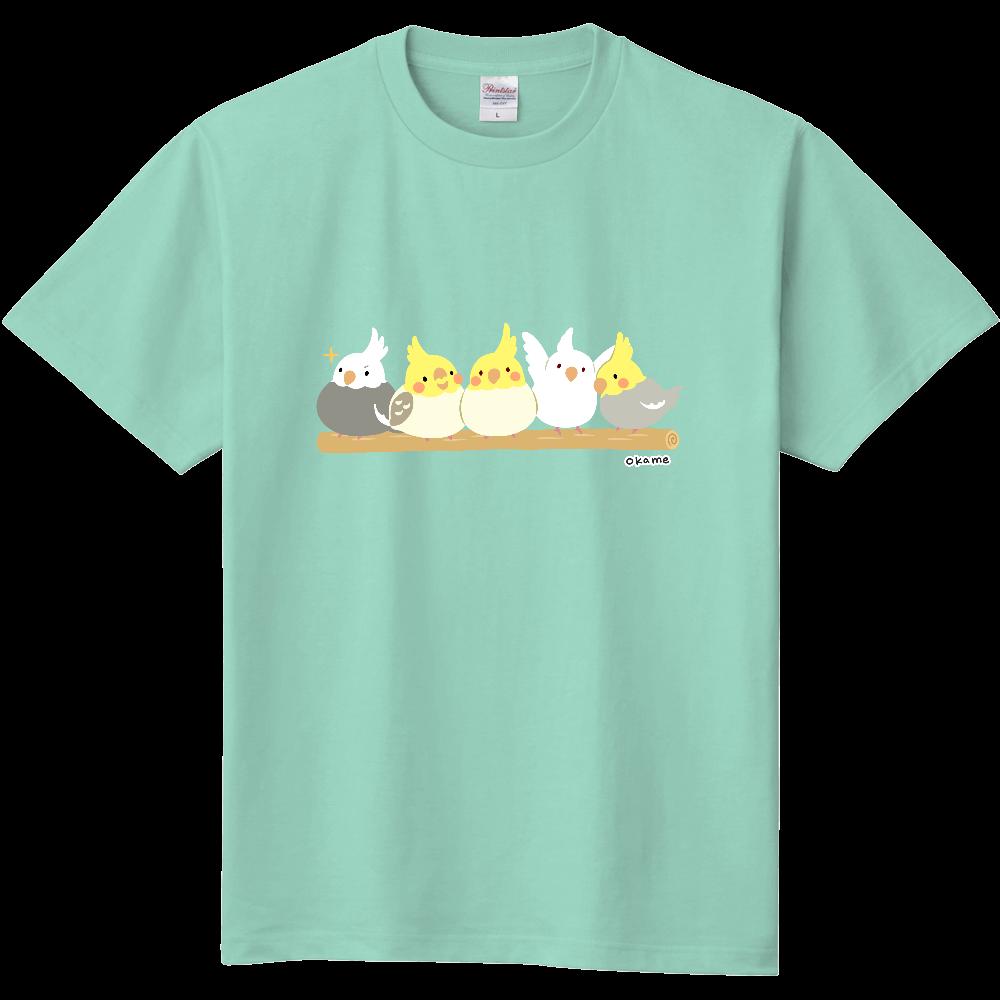 オカメインコ5Tシャツ 定番Tシャツ