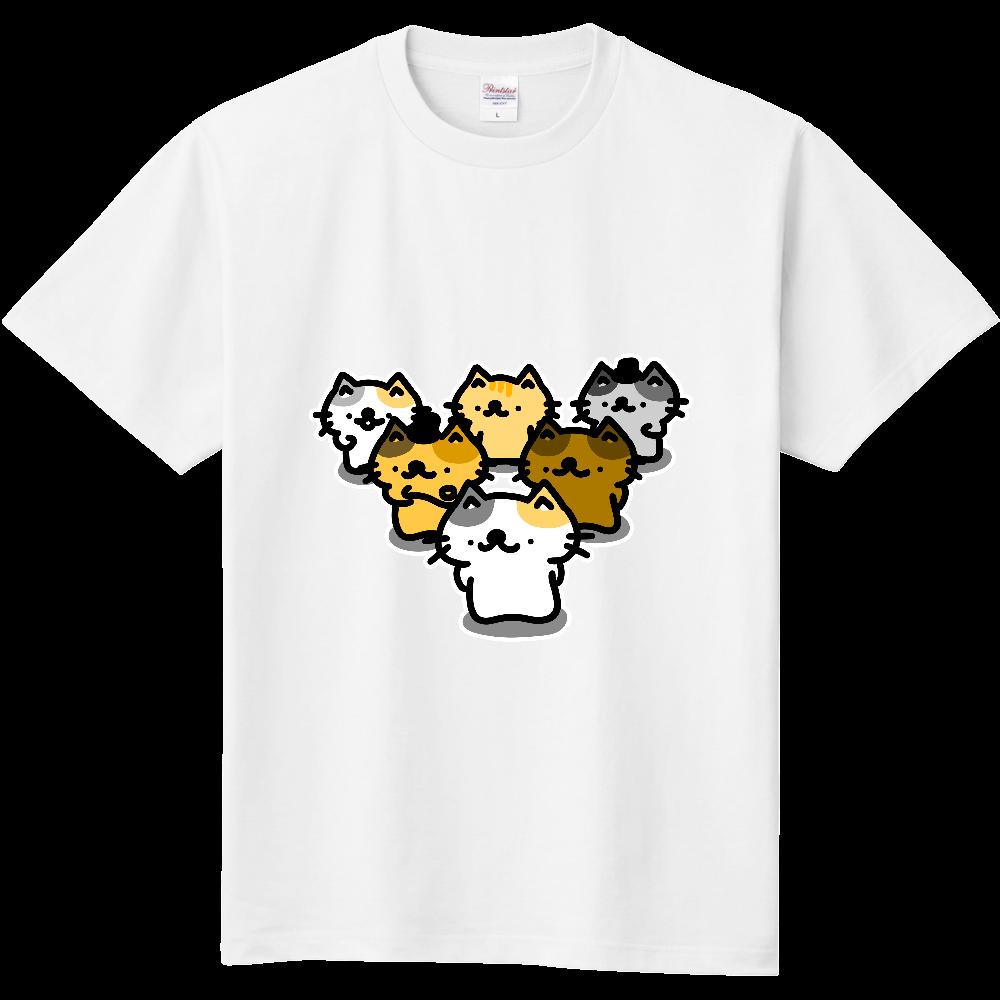 猫軍団が参上したよ!とてもつよい! 定番Tシャツ