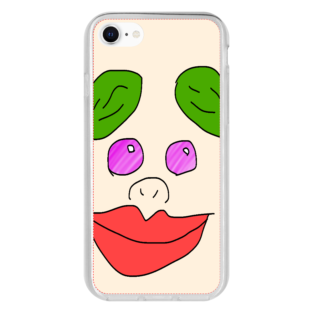 たろ助 iPhone SE2 抗菌ソフトケース