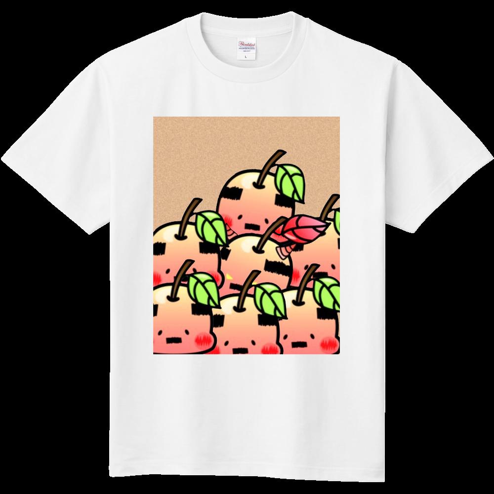 おやじりんご たくさんいる 定番Tシャツ