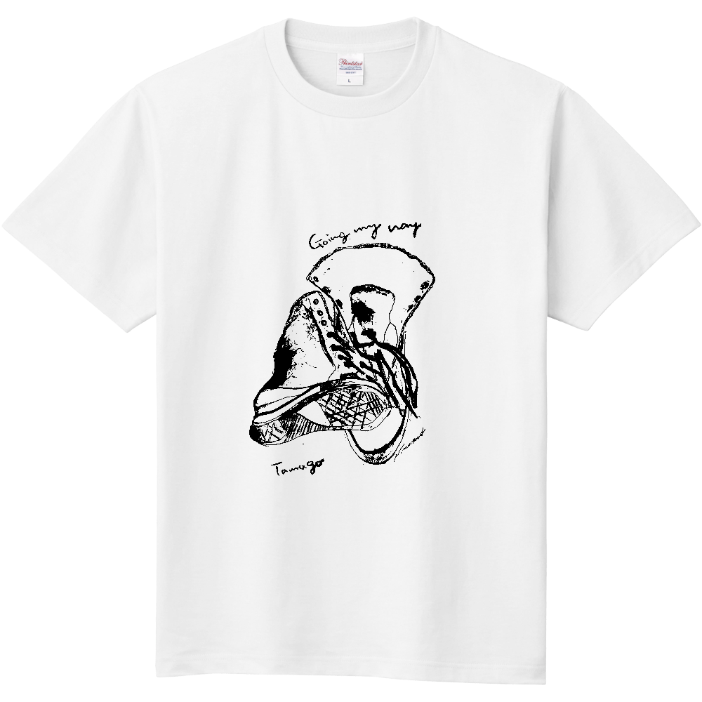 Tシャツ going my way  定番Tシャツ