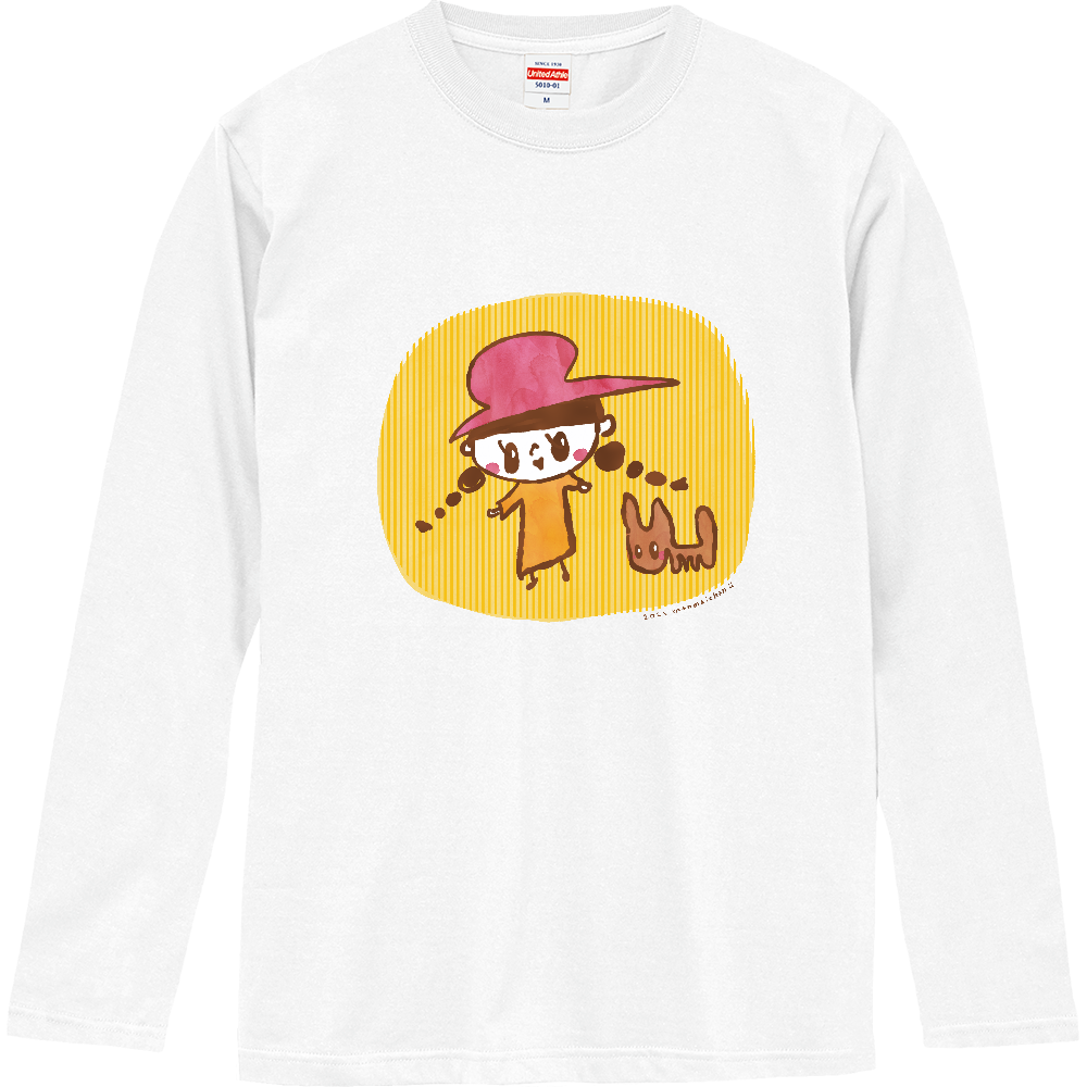 メロちゃんロングスリーブTシャツ ロングスリーブTシャツ