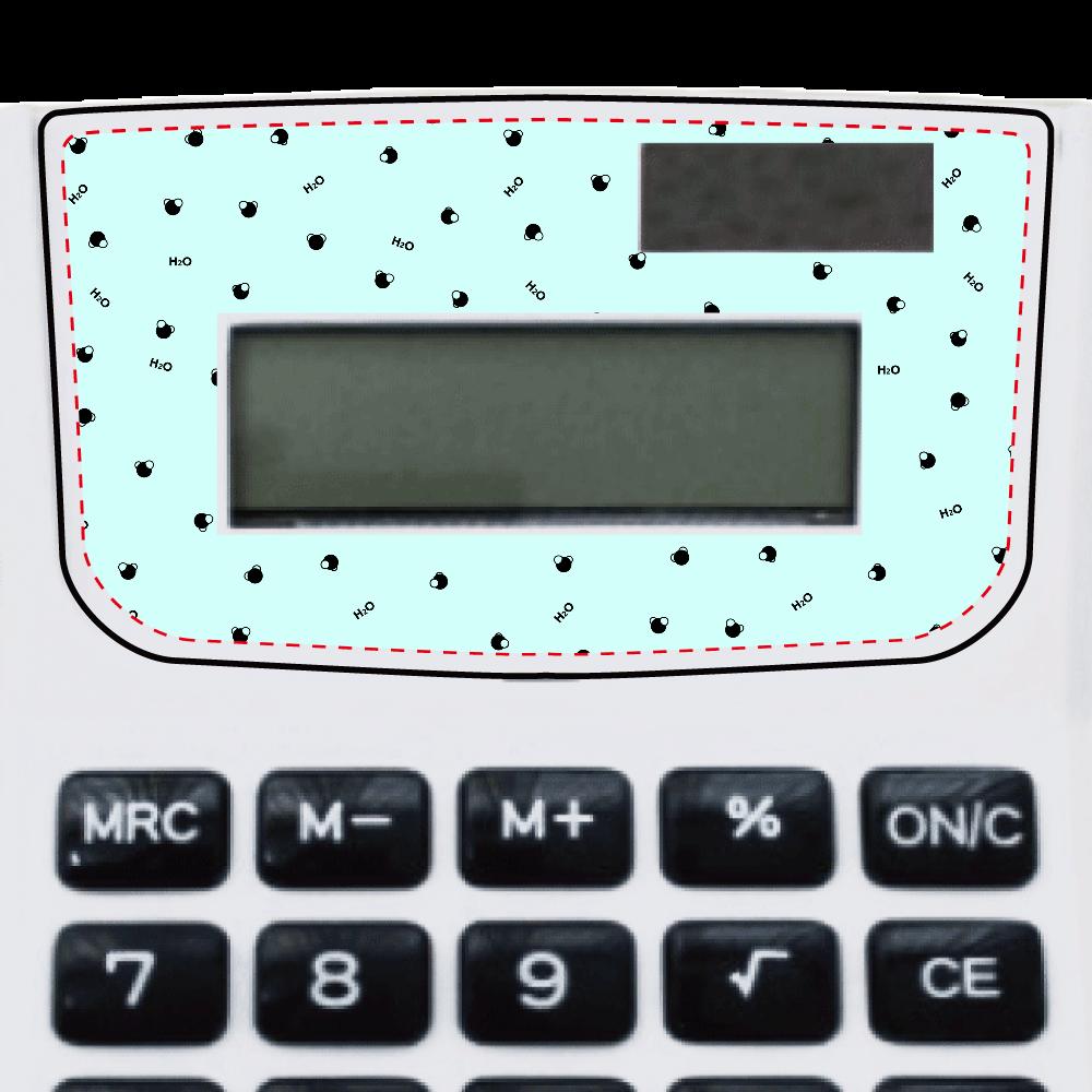 水分子 電卓 電卓