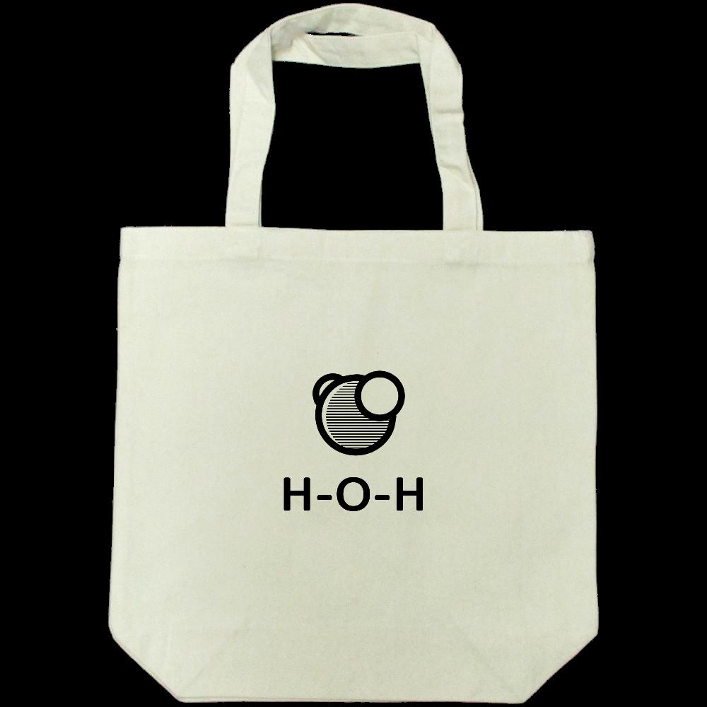 水分子 トートバッグ ライトキャンバストートバック(M)