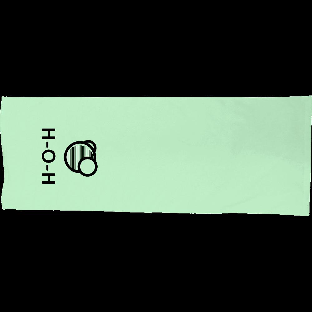 水分子 シャーリングスポーツタオル シャーリングスポーツタオル