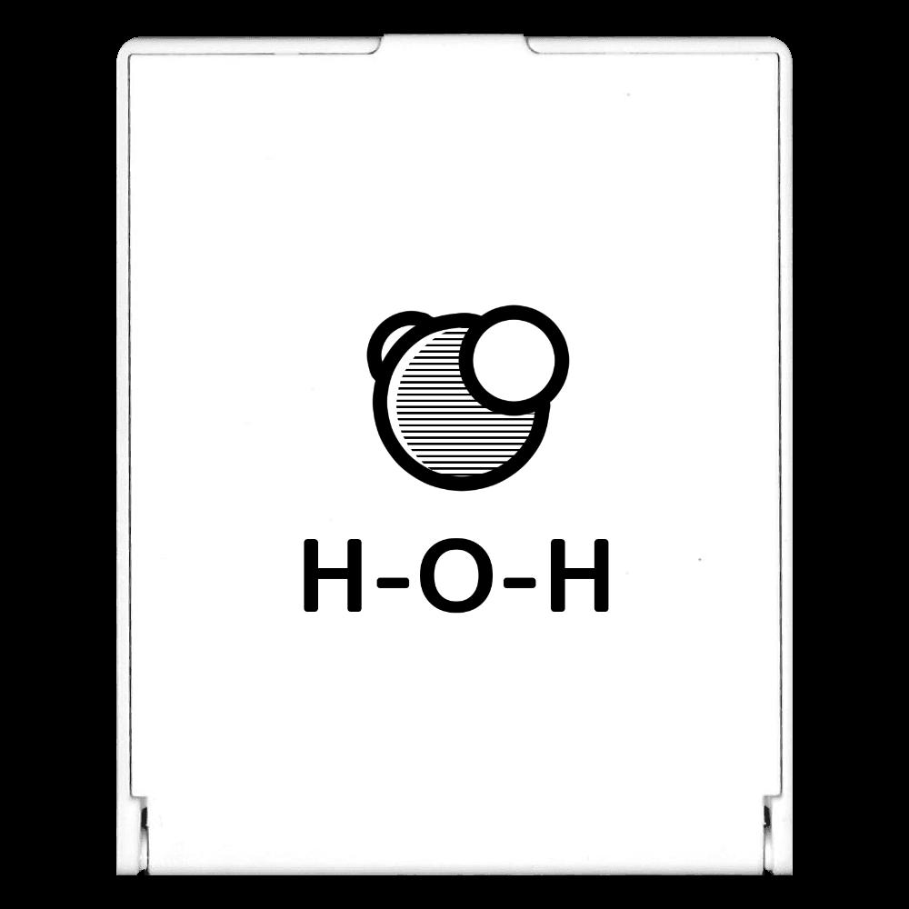水分子 ミラー スクエアミラー