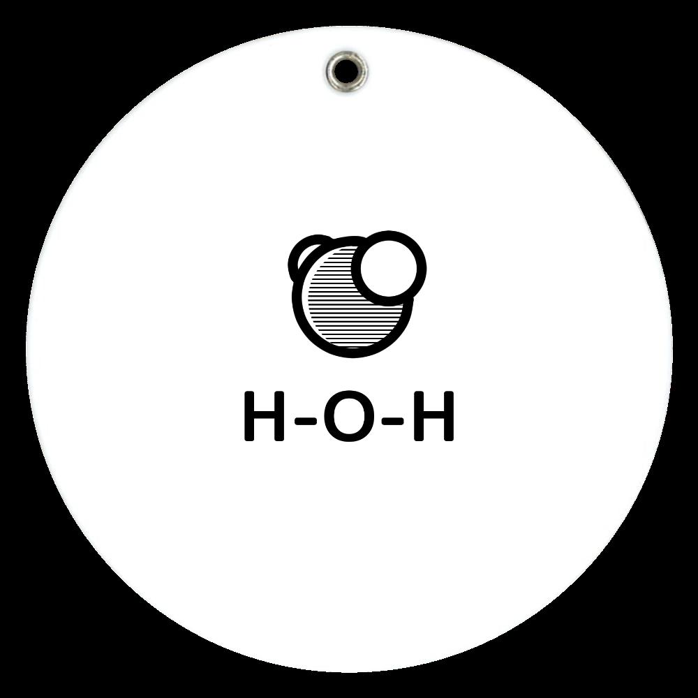 水分子 ミラー スライドアクリルミラー ラウンド