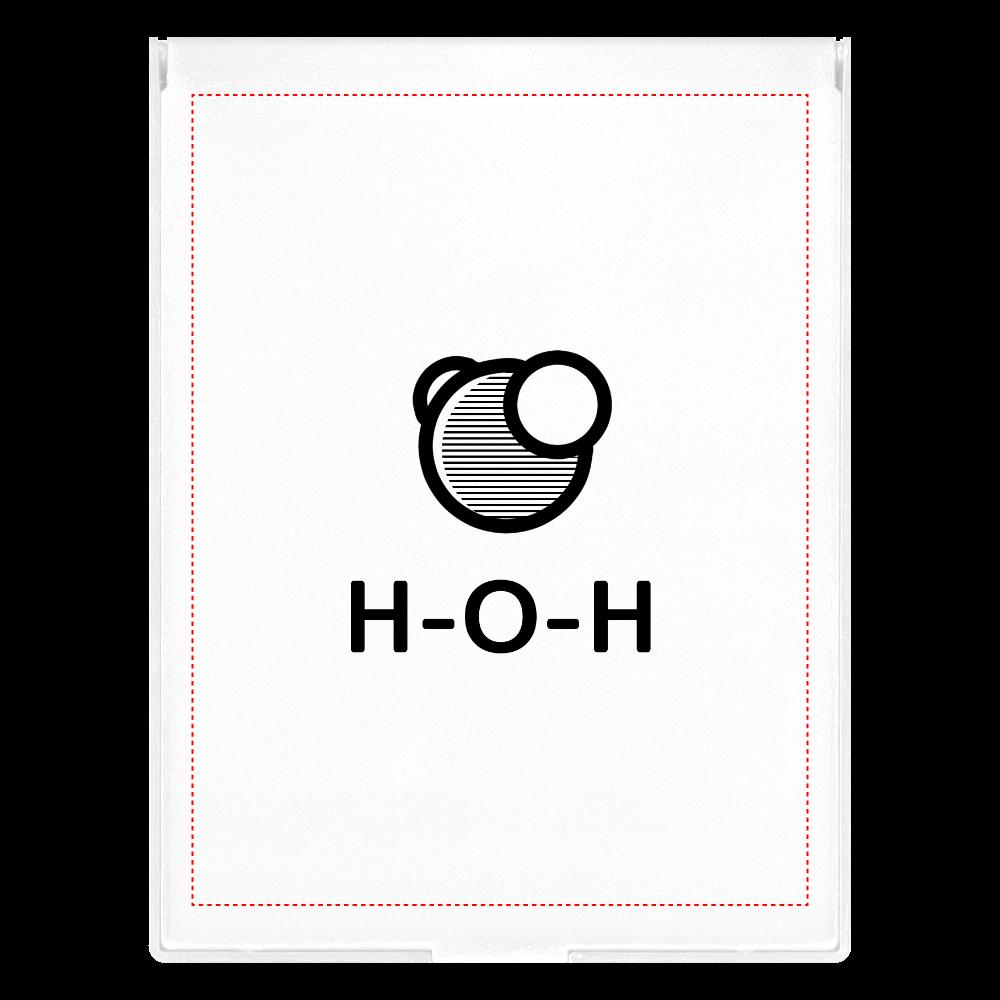 水分子 ミラー フロストスクエアミラー(L)
