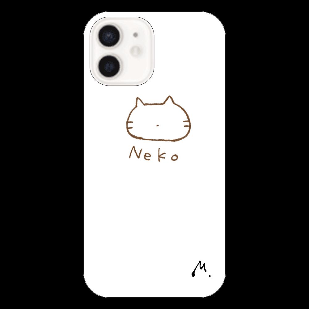 猫になりたい iPhone12(透明)