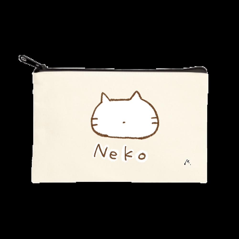 猫になりたい(小) ポーチ(S)