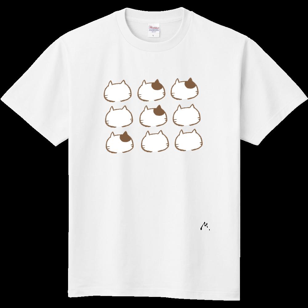 猫の整列 定番Tシャツ