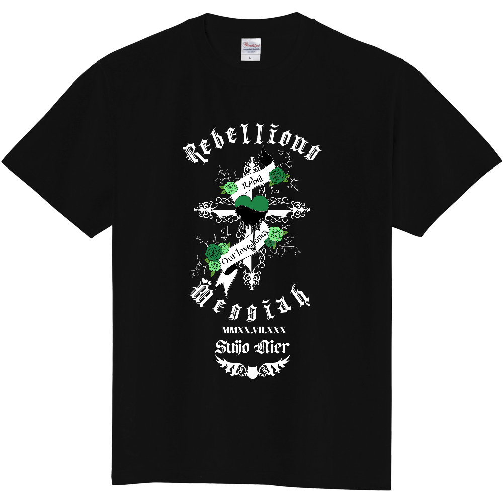 叛逆のMessiah 公式Tシャツ~ Nier Green Ver.~ 定番Tシャツ