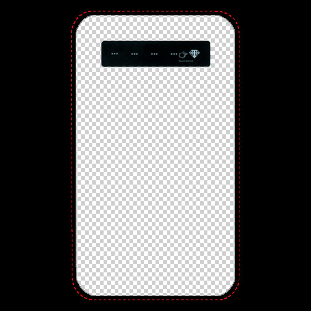 透過 モバイルバッテリー インジケータ有バッテリー4000mAh