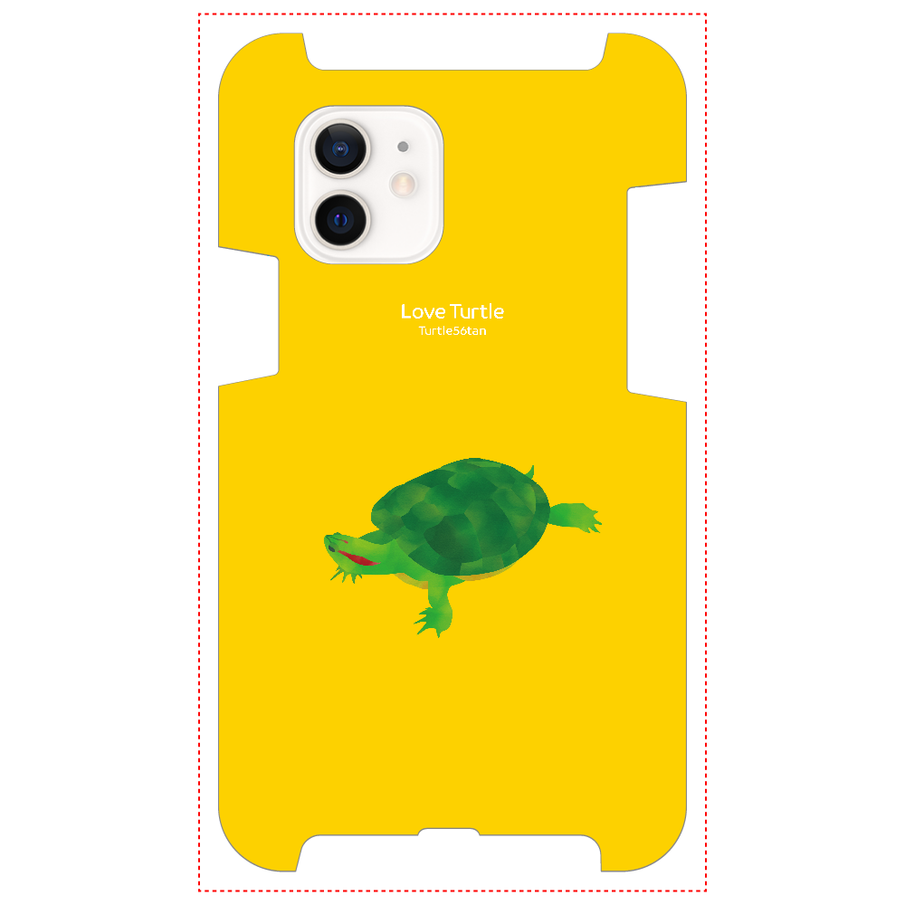 Love Turtle TypeA イエロー iPhone12 / 12 Pro