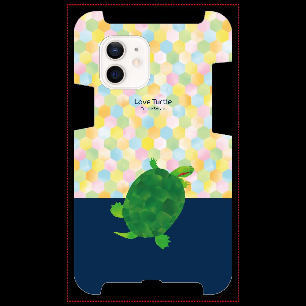 Love Turtle TypeB ツートン ネイビー iPhone12 / 12 Pro