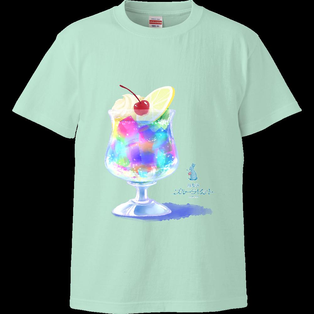 純喫茶ブルーラビット ゼリーポンチハイクオリティTシャツ ハイクオリティーTシャツ