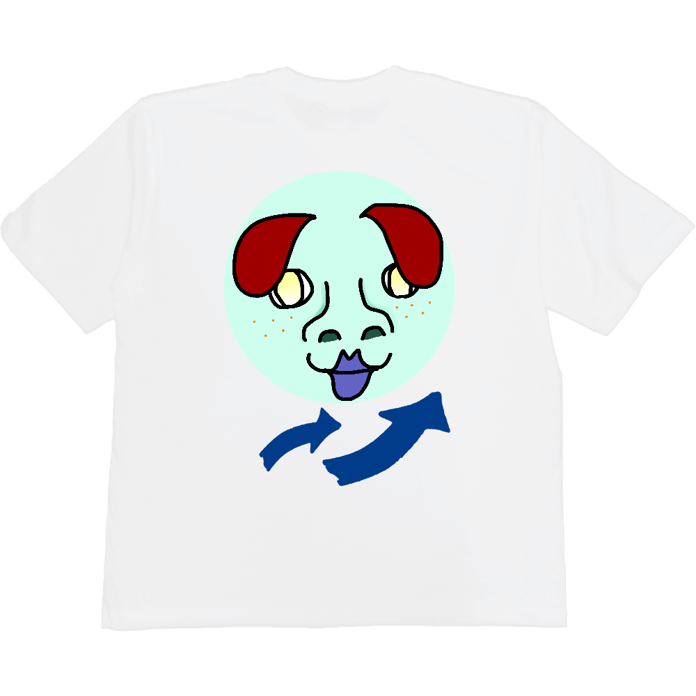 みー子 ヘビーウェイト ビッグシルエットTシャツ