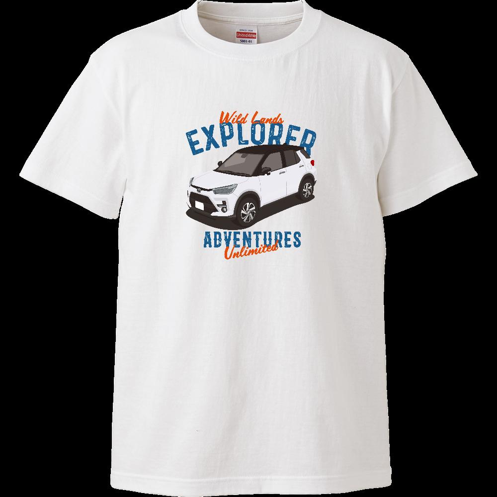SUVイラスト ノーマル ハイクオリティTシャツ XH3 T ハイクオリティーTシャツ