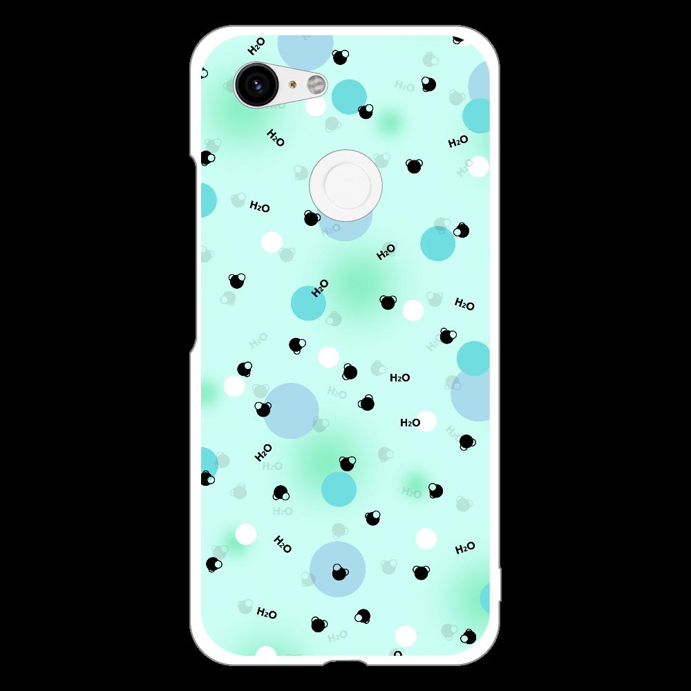 水分子 Androidケース Google Pixel 3 Google Pixel 3