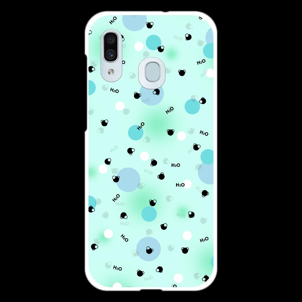 水分子 Androidケース Galaxy A30 (SCV43) ハードケース Galaxy A30 (SCV43) ハードケース
