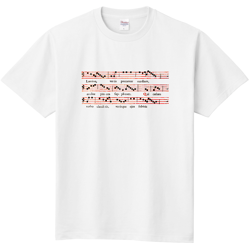 Gregorian Chant 定番Tシャツ