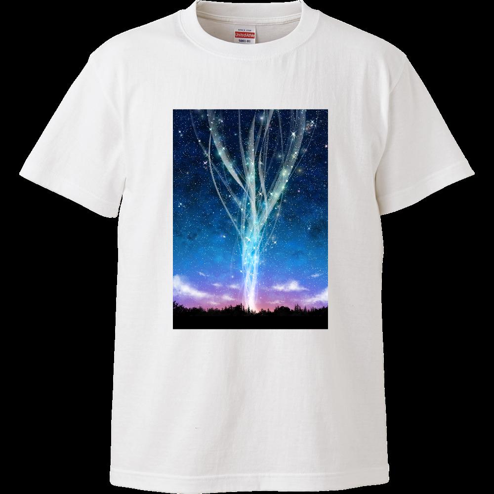 光を紡ぐ ハイクオリティーTシャツ